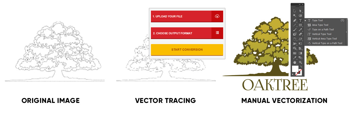 Editing of vector file order online